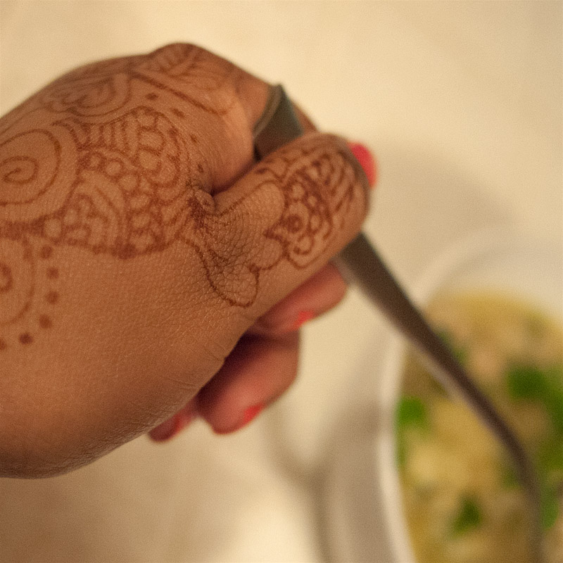 Can we give a shout out to my henna tattoo?
