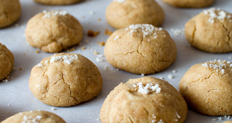 brown butter sea salt cookies