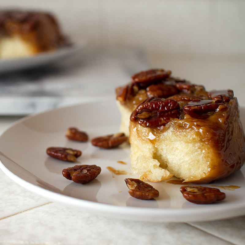 bacon buttered pecan salted caramel sticky buns