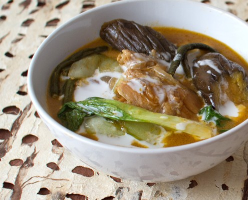 chicken kare kare on FMITK