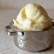 Vanilla Bean and Mascarpone Mashed Potatoes on FMITK.com