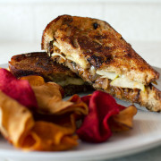 Aged Gouda and Apple Grilled Cheese