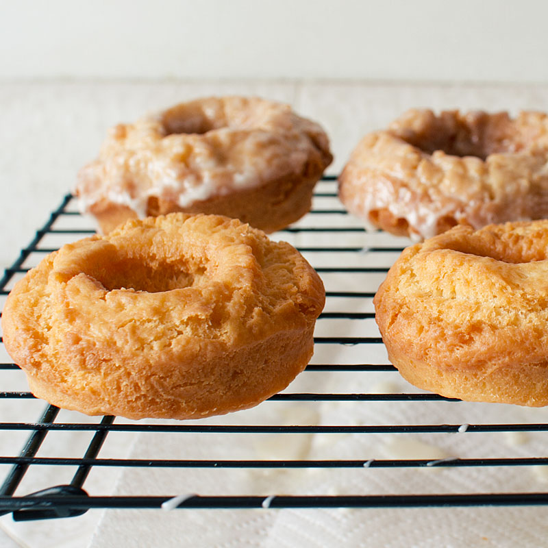 old fashioned sour cream donuts on fmitk.com