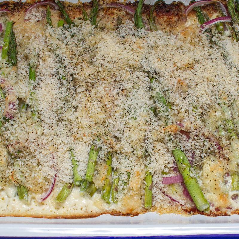 asparagus gratin recipe on fmitk.com