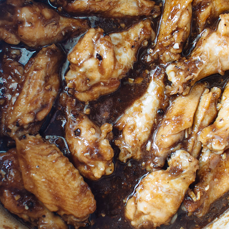 adobo sticky wings recipe on fmitk.com