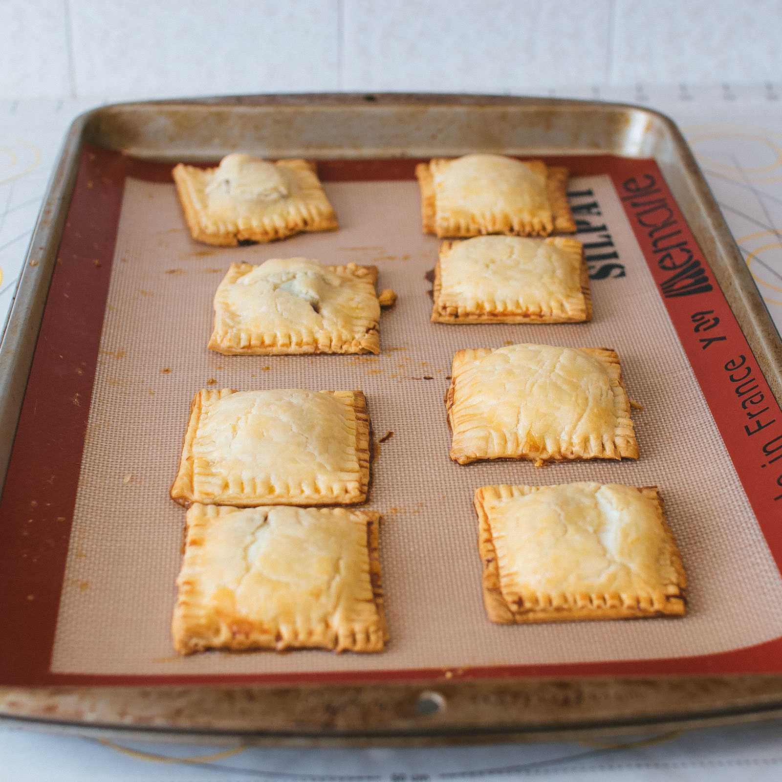Guava and Mascarpone Cheese Mini Poptarts