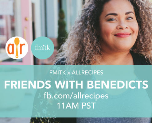fmitk x allrecipes: friends with benedicts diy brunch bar